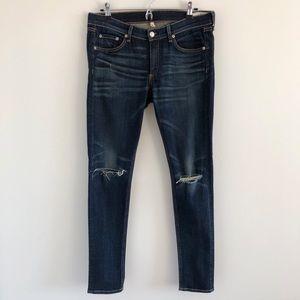 rag & bone/JEAN Ayoyama Distressed Skinny Jeans